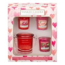 Yankee Candle Gift Set - 3 Votives and Bucket