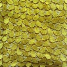 Yellow Petals Chord Lace   5 Yards