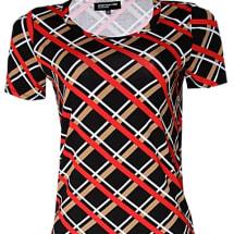 Short Sleeve Shirt- - Multicolour