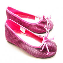 Joe Boxer Pink Girls' Flats.