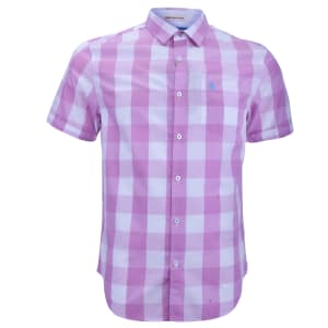 Picnic Plaid Short Sleeve Shirt   Mulberry