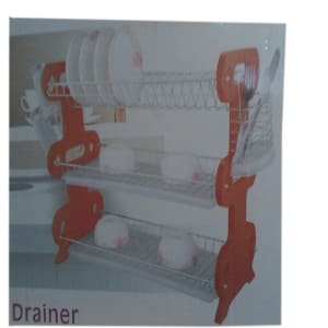 3 Layer Dish Drainer-22inches