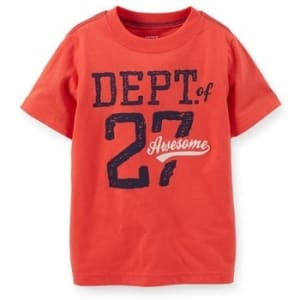 Dept. Of Awesome Tee - 4 Years