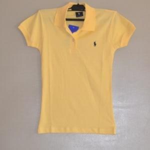 Yellow Short Sleeve Polo