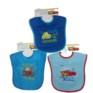 3-Piece Terry Bib Set - Large