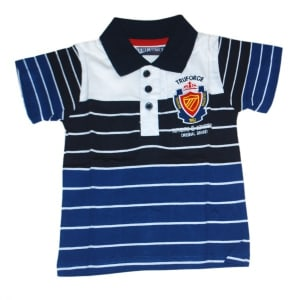 Authentic Stripped Polo Shirt