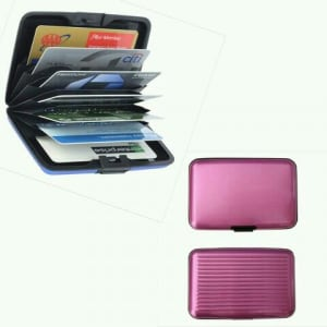 ATM Credit Card Wallet - Pink