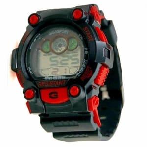 CG Kiddies Digital Watch - Red