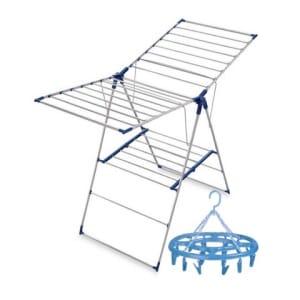 Cloth Hanger Drying Rack with Free Multipurpose Hanger