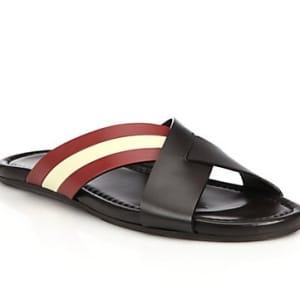 Cross Top Slippers - Multicolour