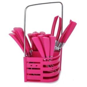 Cutlery Set - Pink