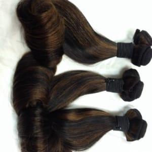 Highlighted Funmi Hair - Egg Curl
