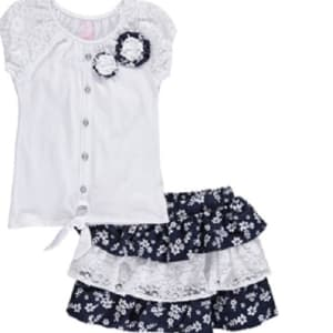 Little Girls 2-Piece Outfit