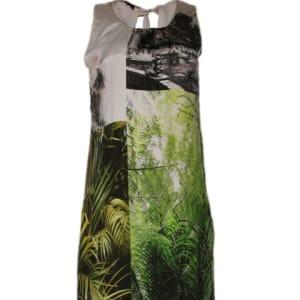 Print Silk Dress - Multicolour