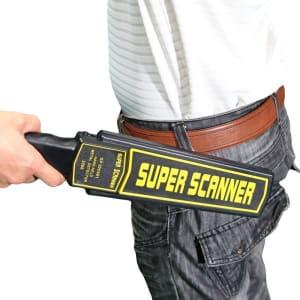 Super Scanner Handheld Security Metal Detector