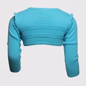 Turquoise Long Sleeve Cardigan