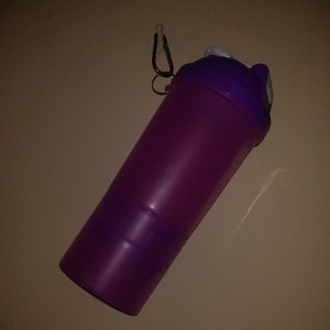 Water Bottle with Ice Chamber