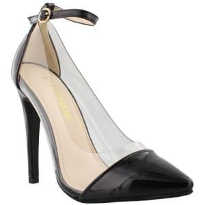 Women Olga Pump Shoe - Black