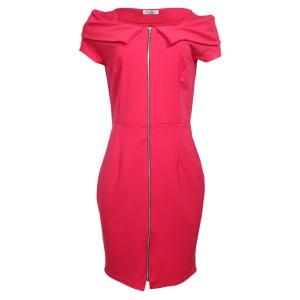 Women's Midi Dress - Pink