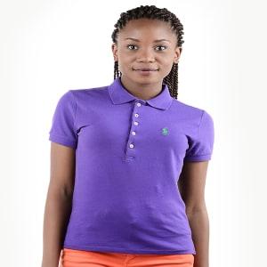 Female Purple Polo T-shirt | CSLSP