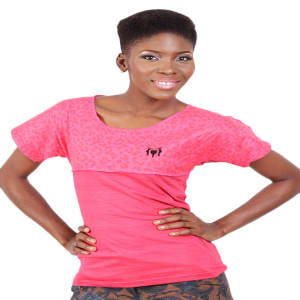 Pink Female Polo T-shirt