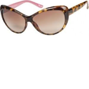 Women's Tortoise Shell Cat Eye Sunglasses