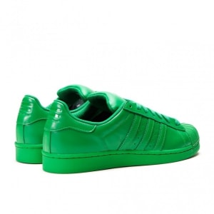 Pharrell Williams Superstar Supercolor Pack - Green