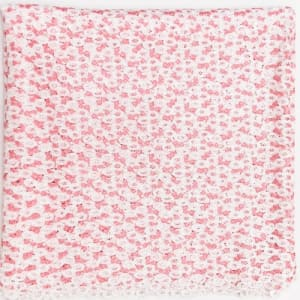 Swiss Cord Lace Design - Pink - 5 Yards