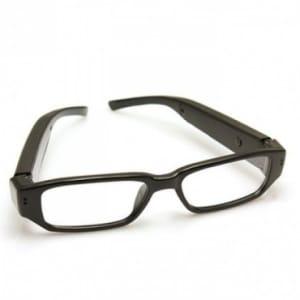 Transparent Video Camera Spy Eyeglasses
